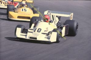 "Hesketh 308C  Derek Cook Mallory Park Shelsport Gp8 1977 10x7"" action photo"